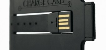 Chargecard : Simplistic, sexy Tech at it's very best