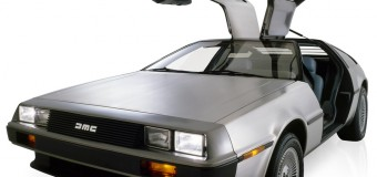 Replica Electric DeLorean – when this baby hits 88mph…!