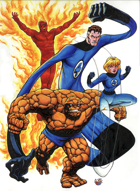The Reboot of The Fantastic Four