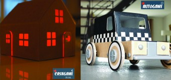 Build Your Own Solar Panelled Cars and Houses! We Love Autogami and Casagami!