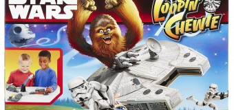 Are Chew' ready to smash some Stormtroopers? It's the awesome 'Loopin' Chewie' game from Hasbro!