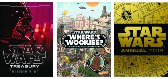 From a Galaxy Far Far Away to a Book Shelf Near You – Get The New Range of Star Wars Books in Your Stocking This Christmas!
