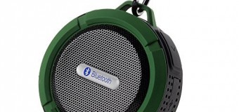 Water-way to listen to music – it's the Waterproof VicTsing BlueTooth Speaker!