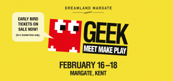 Gearing up for Geek Play 2018 at Dreamland Margate!