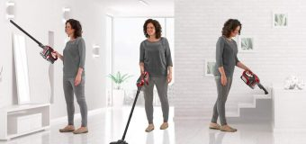 Twin Cyclonic power with the Clifford James Maxi Vac Cordless Twin Cyclone Handy Vac