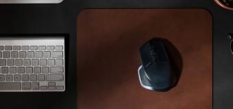 Magnificent Mousepads with the Nomad Horween Leather Mousepad